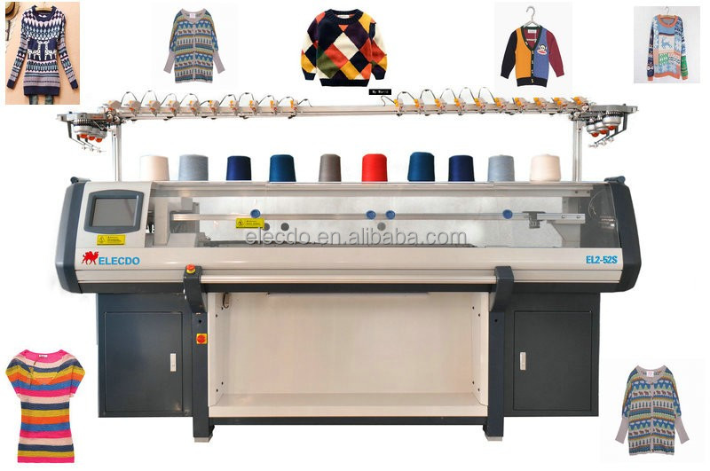 multi-functional sweaters&scarves&caps flat knitting machine