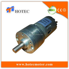 long life high torque 32mm metal gearbox variable rpm 12v testing dc geared motors