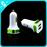 2016 electric car charger mini double usb wholesale usb car charger adapter