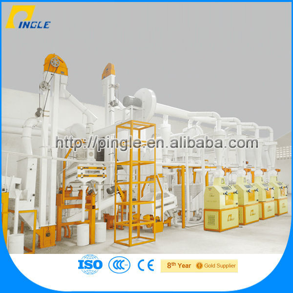 Low price hebei pingle maize starch production plant