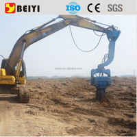 Cheap Excavator mounted Vibratory Pile Driver & Pile Hammer for sale sellers