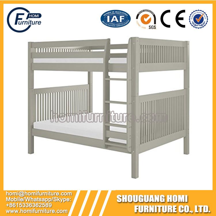 Pine Wood Popular Kids Room Cheap Bunk Bed for Modern Home Bedroom