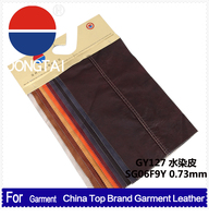2016 Embossed pattern new PU synthetic leather for garment