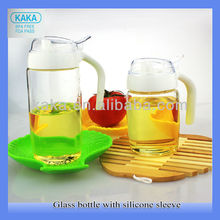 350ml high brosilicate glass olive oil glass oil pot