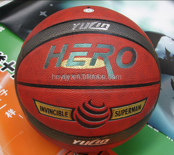 International 7# Basketball for Match Meiosis PU leather