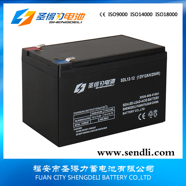 Sufficient capacity agm/sla/vrla battery 12V 12ah for UPS lead acid battery