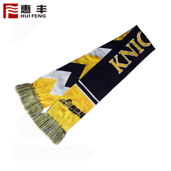 National Printing Wholesale Cheap Price Fan Scarf
