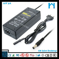 ac dc adapter 12v 3a led 12v constant voltage ac dc adaptor prices
