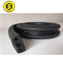 Extrusion Molded D Profile Rubber