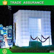 New led light inflatable cube tent buy a photo booth