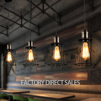 Loft Light Retro Industrial Modern Simple