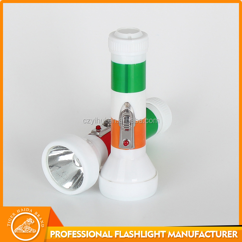 Trade Assurance Supplier Plastic Diving Flashlight Customized Logo plastic flashlight