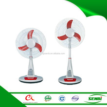 16'' summer cool national 18 inch table stand fans with led light