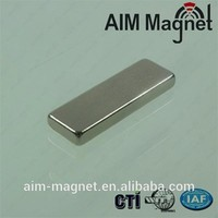China Manufacturer N52 Neodymium Block Magnets