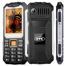VKworld Stone V3S Quadruple Phone Anti-Low Temperature Daily Waterproof Shockproof Dustproof 2.4 inch 21 Keys mobile phone