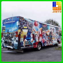 Removable pvc bus sticker printing, vehicle wrap