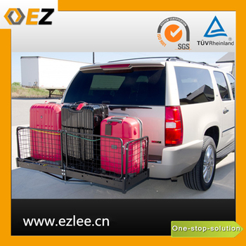 low loader trailer scooter luggage carrier