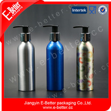 Moisturizing bath oil pump spray aluminum bottle