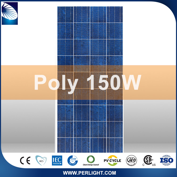 High Quality Most Efficient Assured Trade High Quality Solar Panels Set For Homes 150W