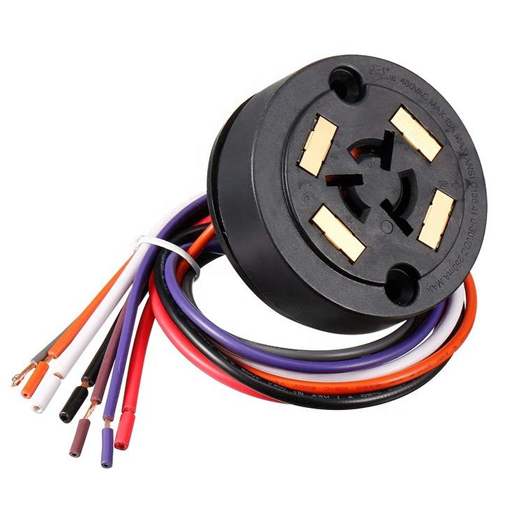 Ansi C136.41 Nema 7p Socket Ul Listed 7p Twist Lock Street Photocell on
