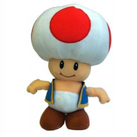 2014 New Cool Super Mario Bros Toad Plush Toy Toad Cute Stuffed Animal Doll