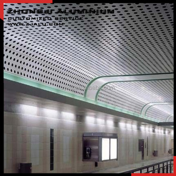 decorative punching aluminum panels for ceiling