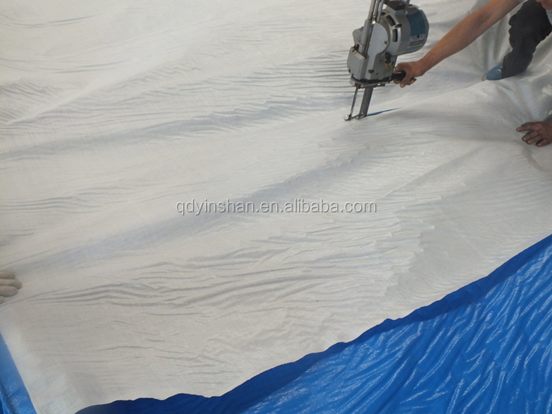 plastic sheet PE material cheap outdoor tarp blue/white colour china supplier high quality low price wholesale manufacture sell