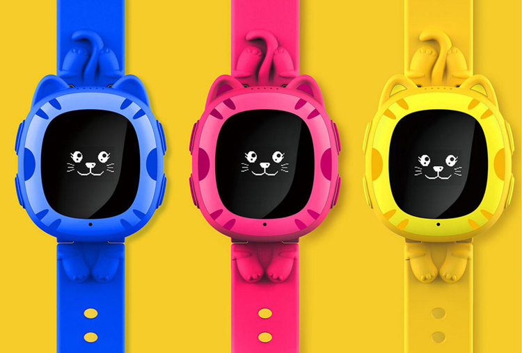 GSM SIM Card Phone Watch 5 Color Options Smart Tracker Kids Watch Tracker