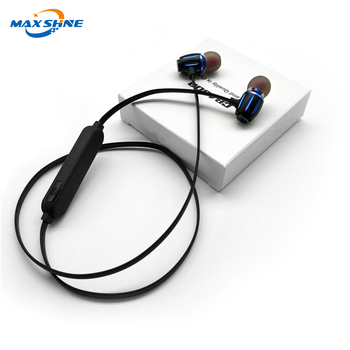 Maxshine S11 sport wireless custom blue tooth headphones noise cancelling 2018