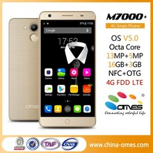 5.5inch FHD OTG NFC function MTK6752 FDD Lte 4G Dual SIM super slim mobile phone with price