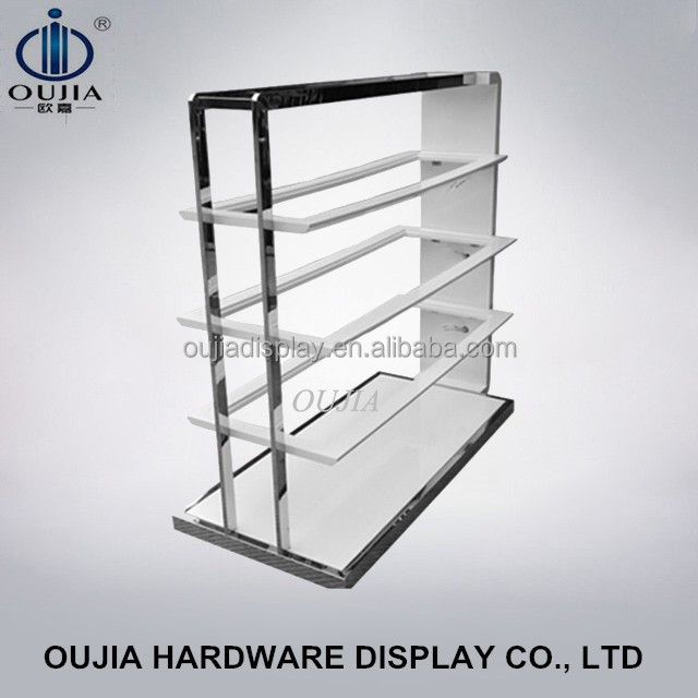 newest and fashional shoes stand design/shoe display stand