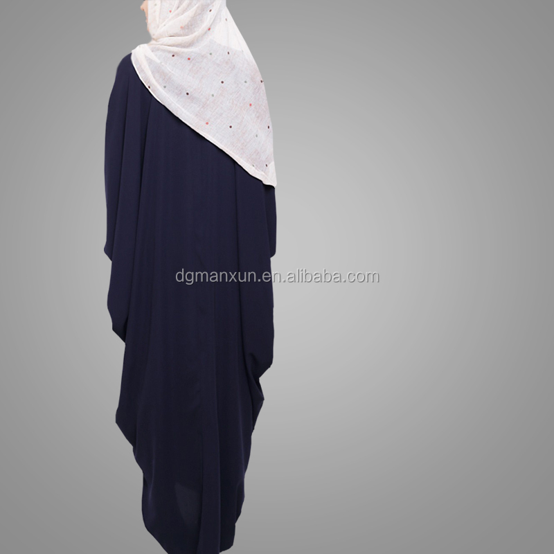 Latest Burqa Designs Pictures Simple Style Fashion Muslim Kaftan Dress Moroccan Style Islamic Clothing