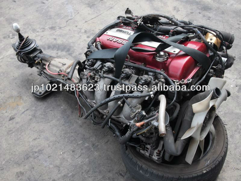 Japanese used car engine motor and used accident cars for sale S13 S14 S15 Silvia 200sx SR20DET