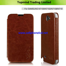 Topmind Book Style Leather Case for Galaxy Note 2 N7100