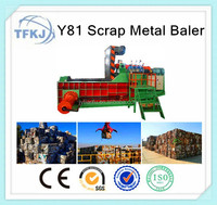 Y81T-2000 automatic baler horizontal balers packing machine for scrap metal (factory and supplier)