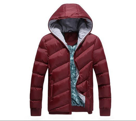 Article 2014 winter new cotton-padded clothes coat thickening inclined the cotton-padded clothes down cotton men's coat