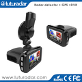 2.7 inch 1296P Car DVR GPS Radar Detector 3 in 1 dash cam for ambarella a7 car dvr