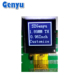 Small Size 0.96 Inch 64x64 Dot Matrix LCD Display DFSTN(Cog )Graphic White Word customized China factory