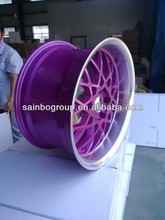 Replica Rotiform Alloy Wheel Rims With Purple Paint