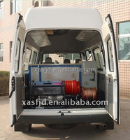 Cable test van for 35kV and lower