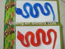 tpr soft plastic sticky snake toy