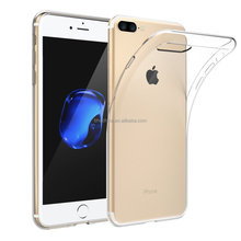 "Soft Silicone Thin Case Cover TPU Rubber Gel 5.5"" Transparent Clear Back Case for Iphone 6 6s Plus"