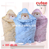 Wholesale Cheap Safety Comfortable New Born Baby Cotton Blanket For Receicing Baby