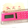 20 Cm Lcd Ruler Calculator Clear