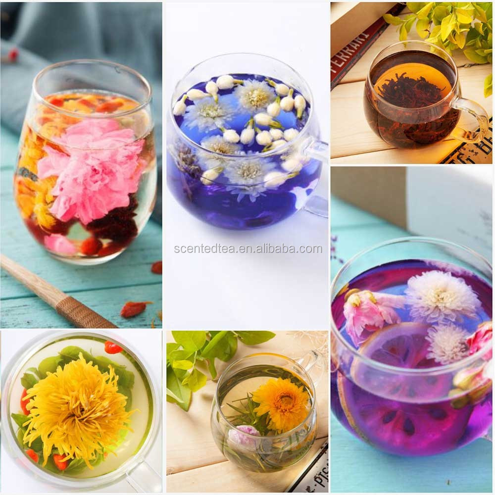 throat tea flower tea the seed of boat fruited sterculia healthy tea