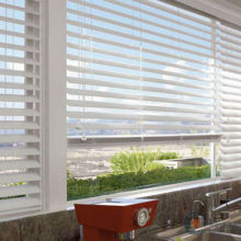durable head rail window rubber wood venetian blinds