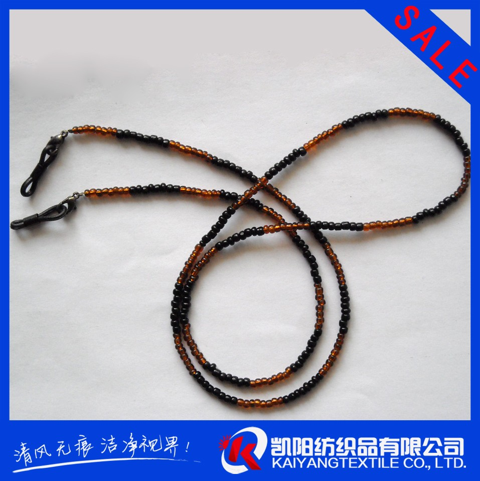 New style bead eye glass holder cords