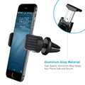 universal 360 degree swivel anti slip car air vent mount mobile phone holder