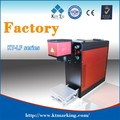Kuntai factory Fiber laser marking machine for metal plastic with RAYCUS resource
