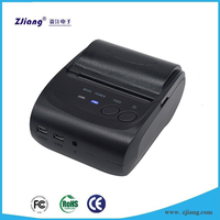 Hand receipt machine ZJ5802LD mobile pos ticket printer wireless with android application